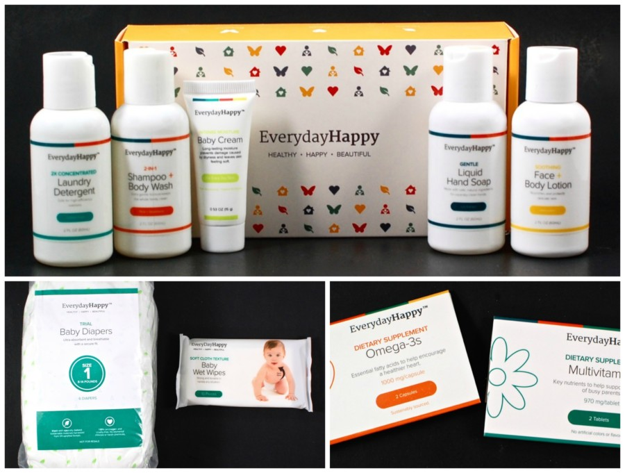 Everyday Happy Free trial kit
