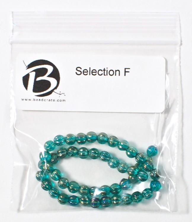 blue melons beads