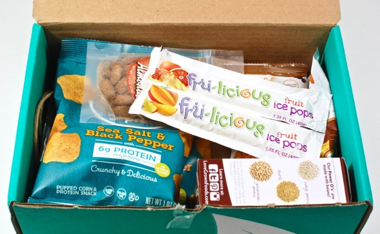 Fit Snack March 2016 review