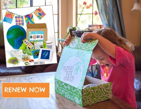 Green Kid Crafts free box
