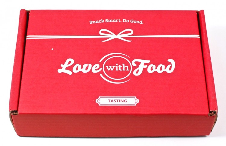 March 2016 Love With Food box