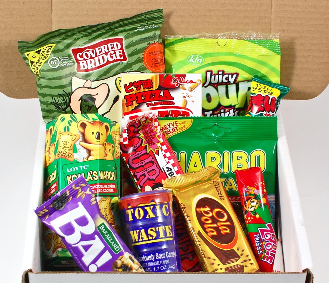 February 2016 Munchpak review