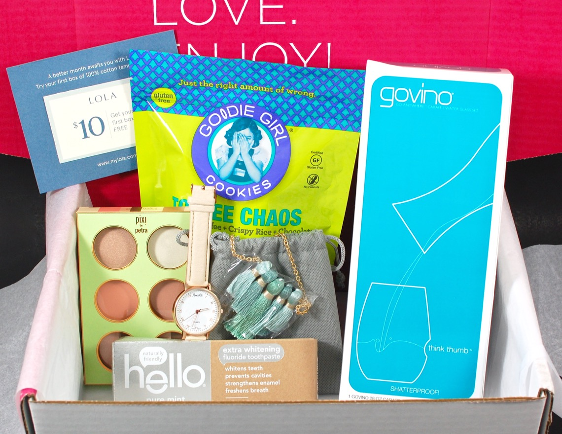 Popsugar must have march 2016 review amp coupon code 2 little rosebuds