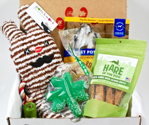March 2016 PupCrate review