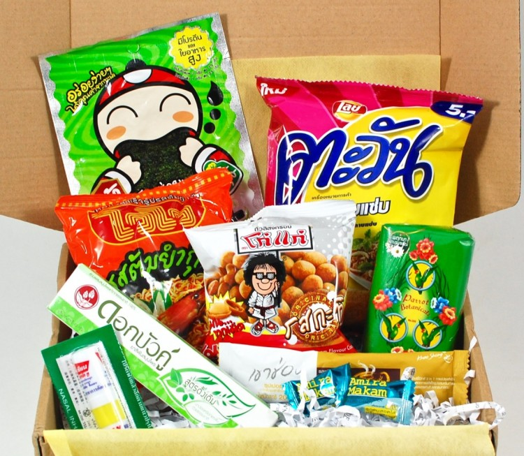ThaiThaiBox March 2016 Subscription Box Review & Coupon Code