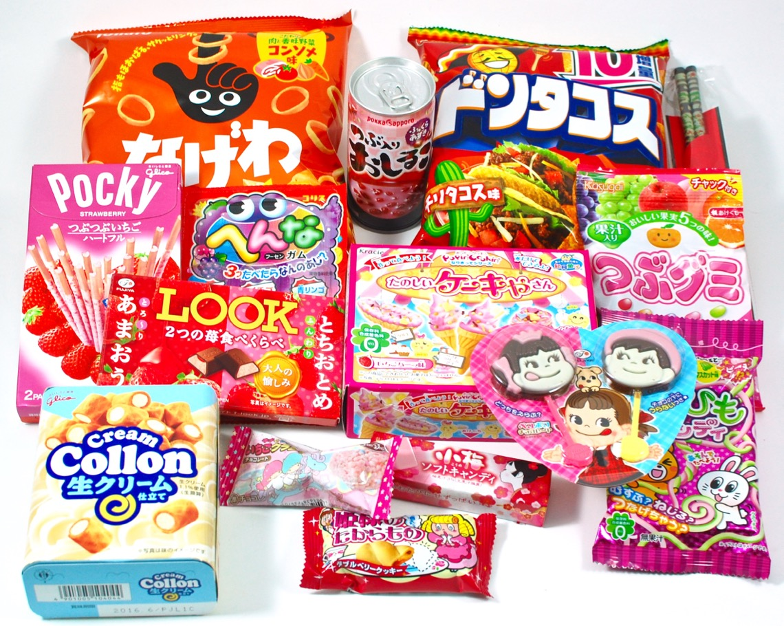 February 2016 TokyoTreat box review