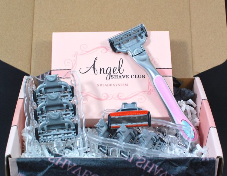 Angel Shave Club April 2016 Subscription Box Review
