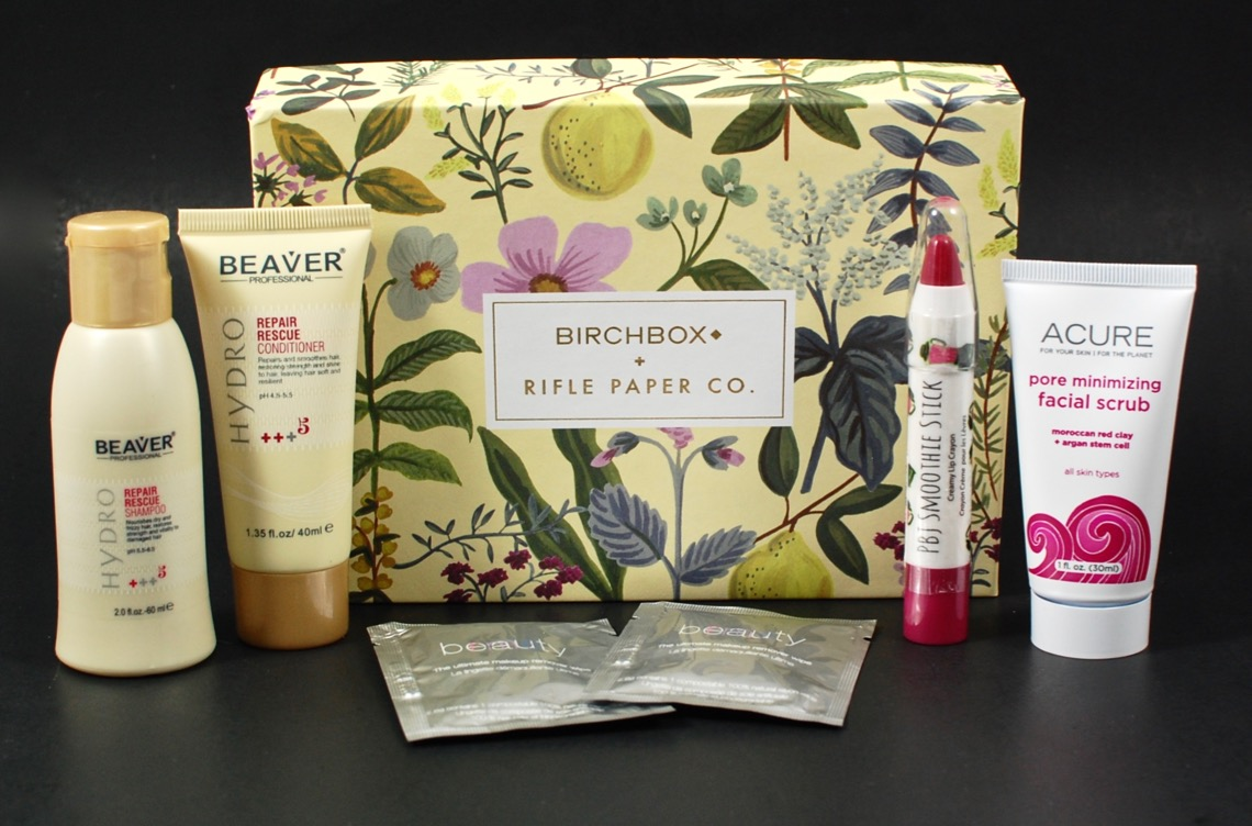 April 2016 Birchbox review