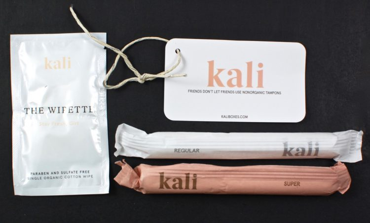 kali tampon subscription