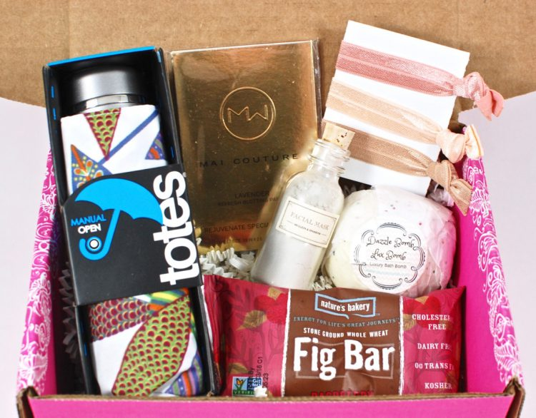 Pampered Mommy Box April 2016 Subscription Box Review