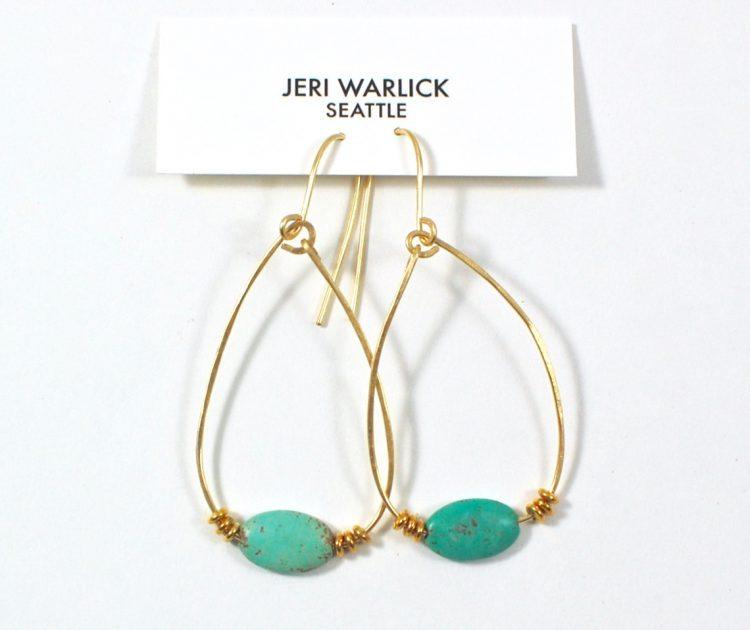 Sapphire Soul earrings