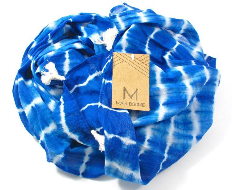 GlobeIn shibori scarf