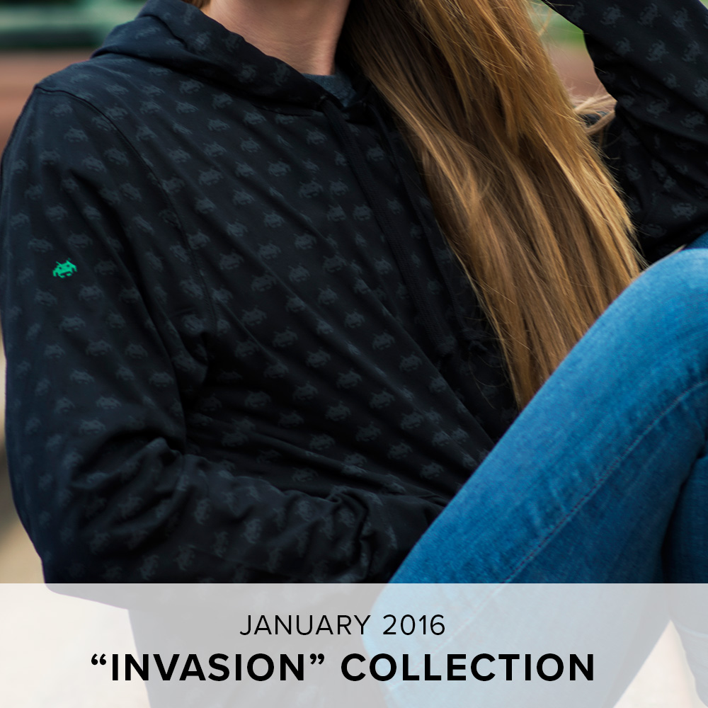 "Level Up Loot Wearables ""Invasion"" Collection"