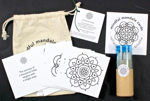 mindful mandala cards