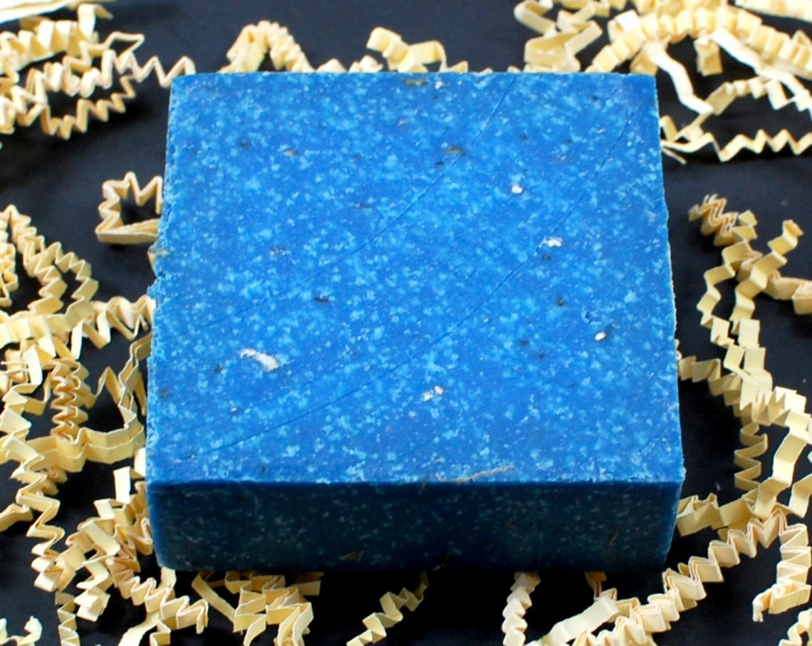 blueberry scrub bar