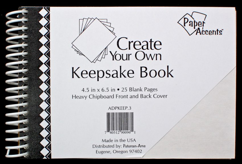keepsake book diy