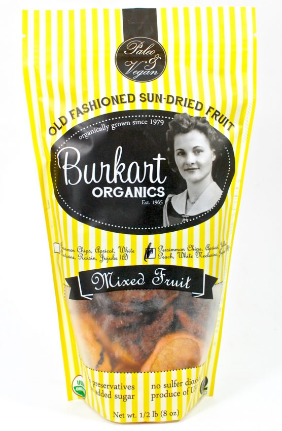 Burkart Organics dried fruit