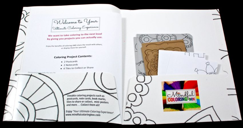 Mindful Coloring Box
