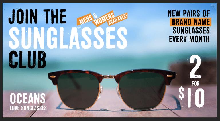 Monthly Sunglasses Club