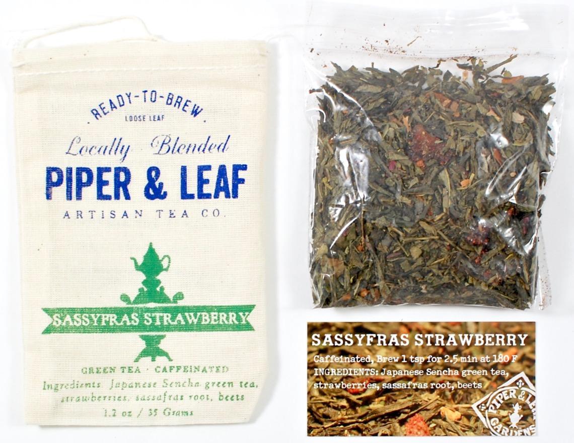 Strawberry Sassafrass tea
