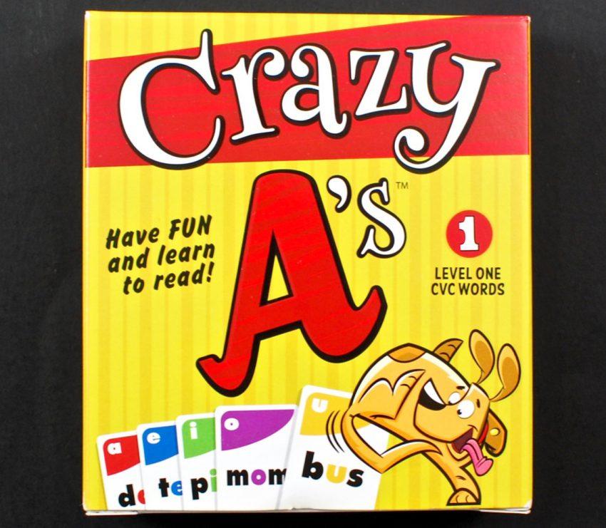 Crazy A's game
