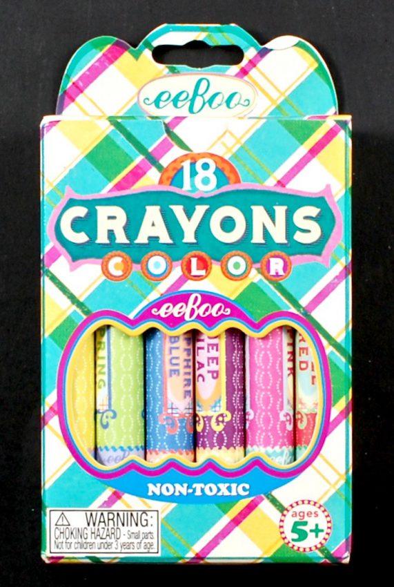 Eeboo crayons
