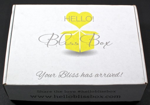 Hello bliss box review
