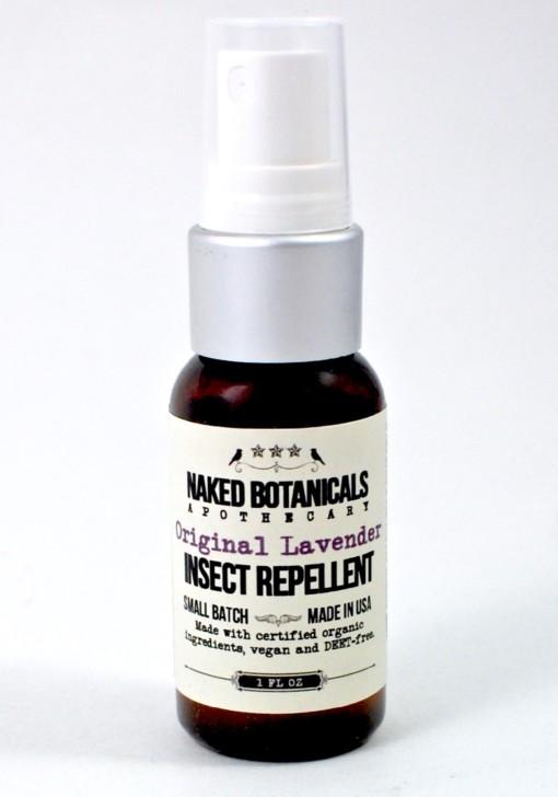 Naked Botanicals bug spray