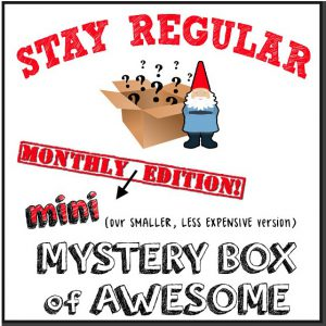 Mini Monthly Mystery Box of Awesome