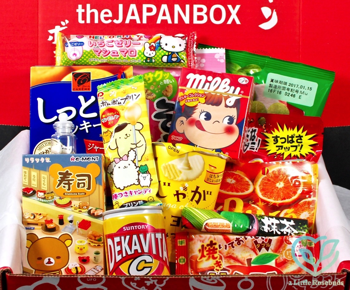 July 2016 Skoshbox Japan Box review