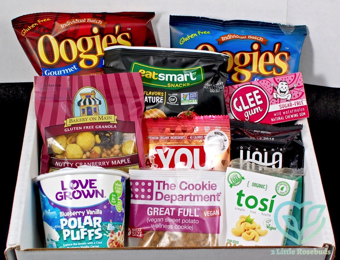 July 2016 SnackSack review