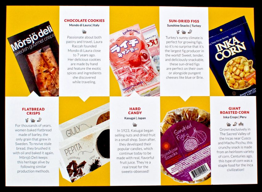 Try the World snack box review