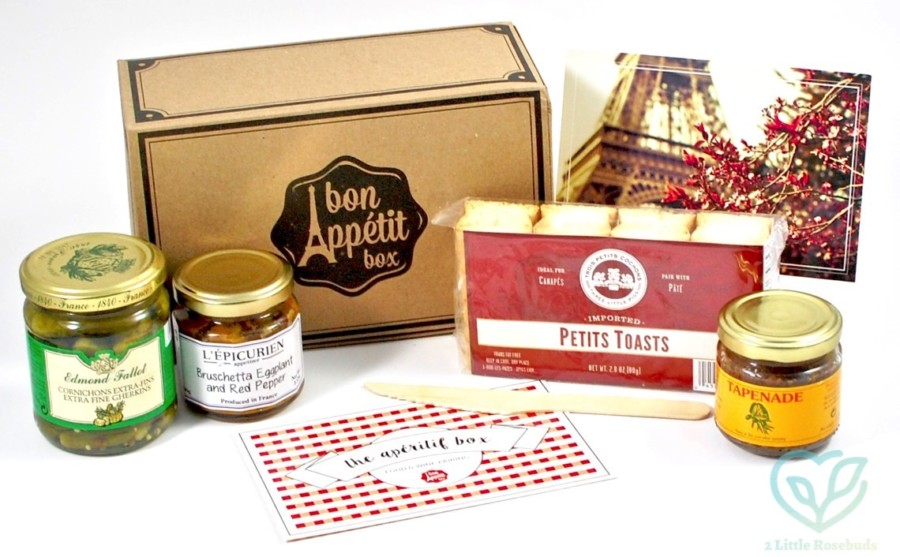 August 2016 Bon Appetit Box review