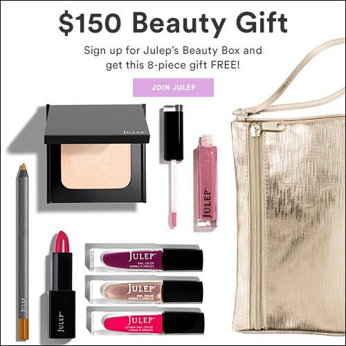 Julep free gift coupon