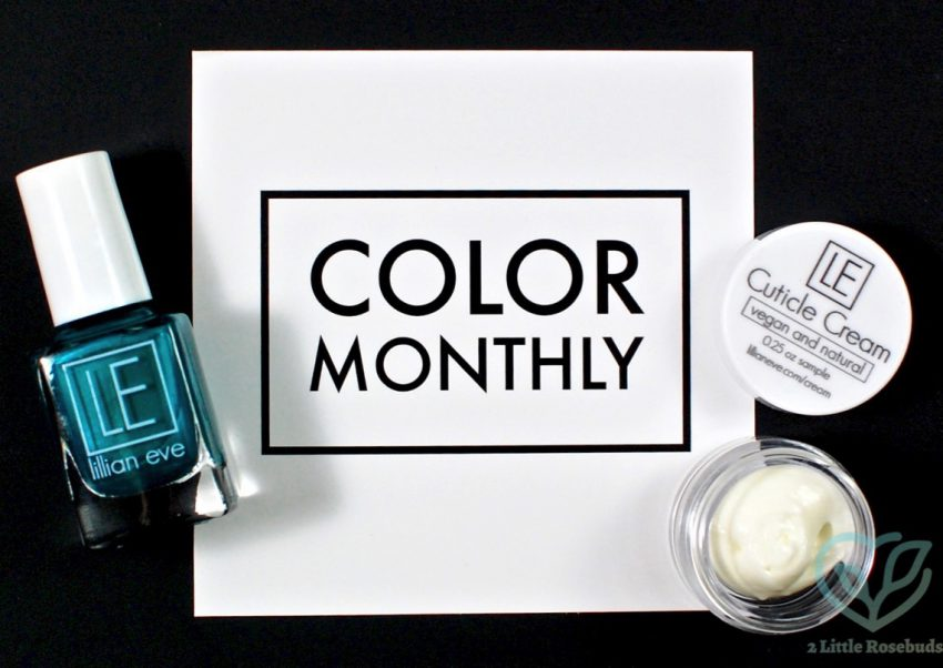 August 2016 Color Monthly review