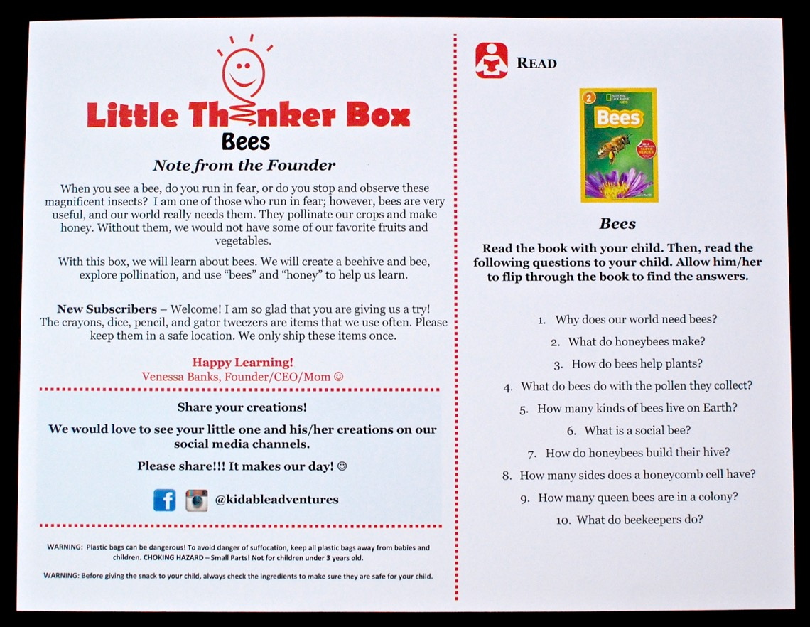 Little Thinker Box review