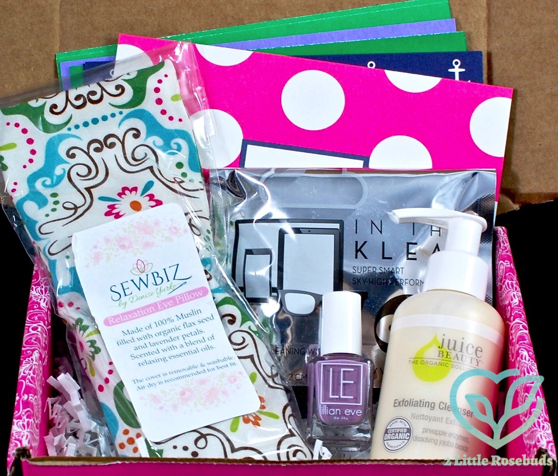 August 2016 Pampered Mommy Box review