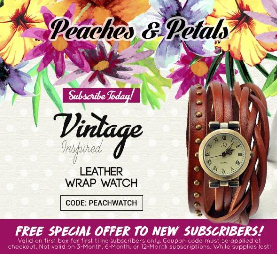 peaches & petals free gift