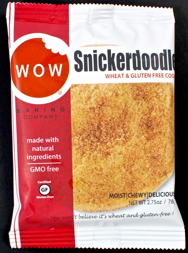 WOW snickerdoodle cookie