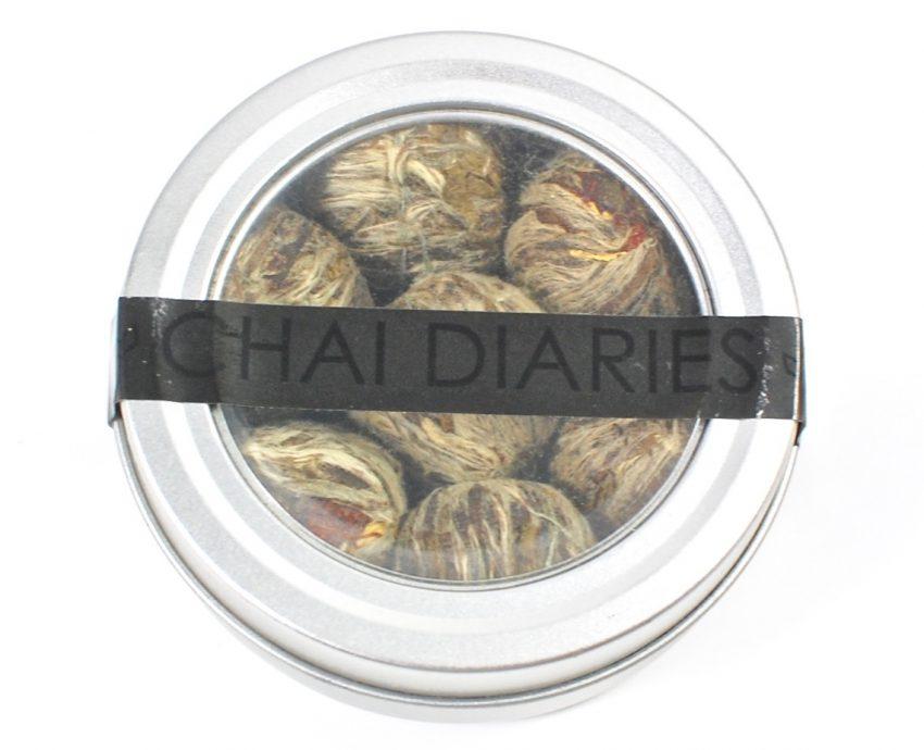 Chai Diaries Blooming Tea