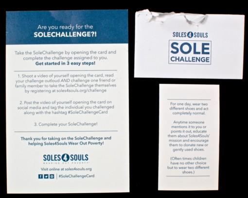 challenge card