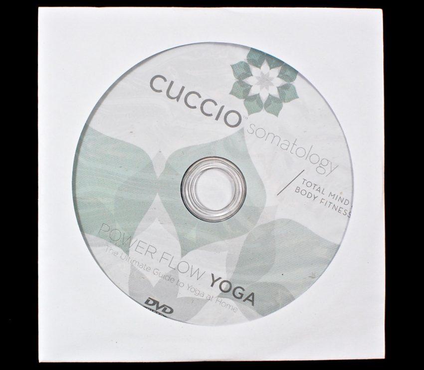 Cuccio Power Flow yoga dvd
