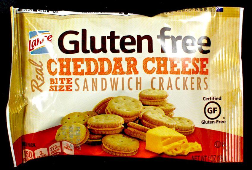 Gluten Free cheese crackers
