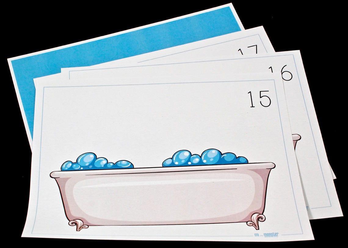 bubble counting activity