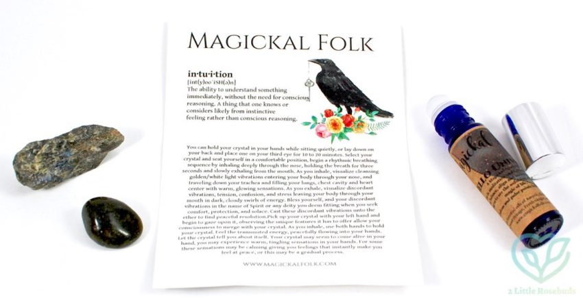 Magickal Folk August 2016 Crystal & Oil Subscription Box Review & Coupon