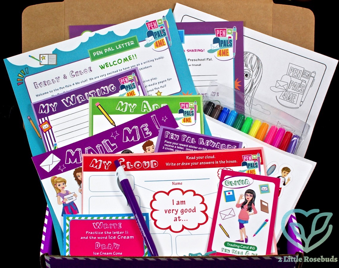 Pen Pals 4 Me welcome box review