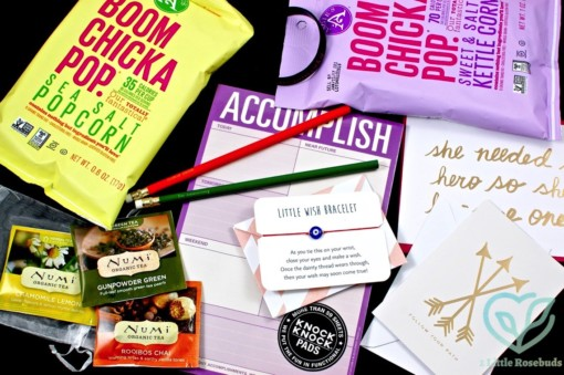 September 2016 Work It Box review