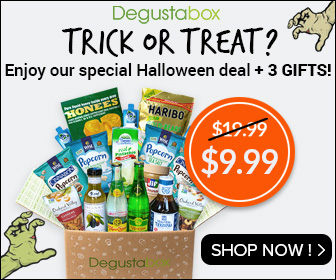 Degustabox - $9.99 Special Halloween Deal + 3 GIFTS