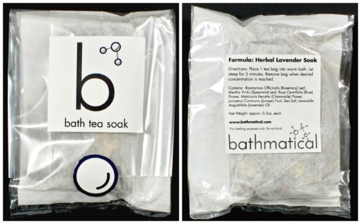 Bathmatical bath tea