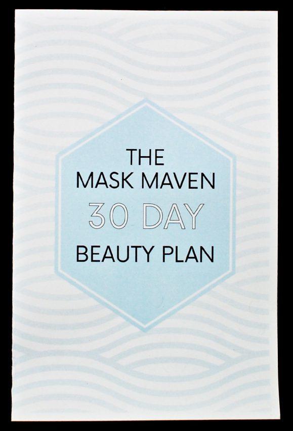 Mask Maven beauty plan